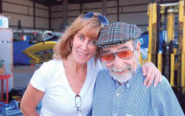 Making Above and Beyond, producer Nancy Spielberg met Harold Livingston, who, as part of Israel's Air Transport Command, flew critical supplies, weapons, and airplanes between Czechoslovakia and Israel during the War of 1948.