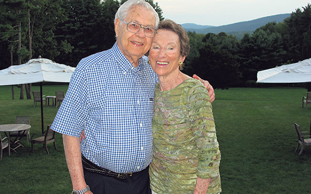 Norma and Kenneth Spungen at the celebration of his 83rd birthday in 2011.