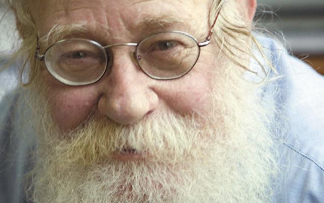Jewish superhero: Rabbi Adin Steinsaltz's monumental Talmud study inspired the Global Day of Jewish Learning project.