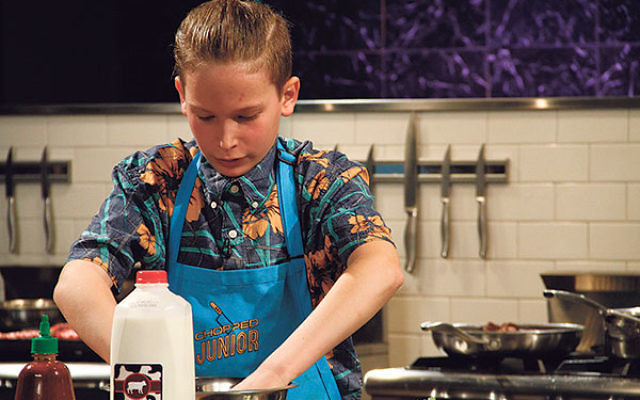 Jacob Stern, 14, of East Brunswick survived until the final round of competition on the Food Network program Chopped Junior.