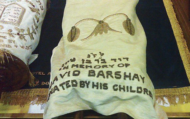 """One of the six Torah scrolls allegedly """"missing"""" from Congregation Shaarey Tefiloh"""