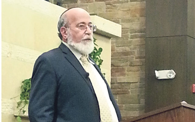"Rabbi Joseph Telushkin, speaking at Congregation Beth El on Oct. 26, said, ""The primary demand of religion must be to bring about ethical behavior."""