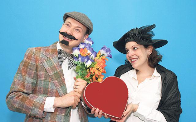 Motl Didner and Di Folksbiene Trupe will perform in Princeton Oct. 4.