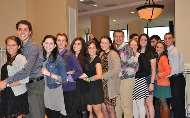 Youth group members at the 2013 USY Centennial. Photo courtesy USCJ