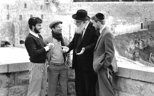 The source of Aish: Rabbi Noach Weinberg, who founded the Aish HaTorah and oversaw its global growth. The current dispute is between some of his closest devotees.