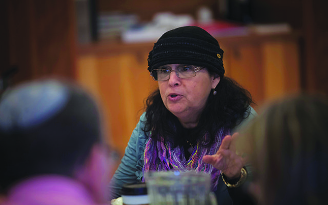 Dr. Saundra Epstein, director of Eshel's Welcoming Shuls Project. Photo courtesy Eshel
