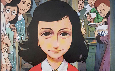 The comic book written by Ari Folman is the first such publication authorized by the Anne Frank Foundation. Ari Folman