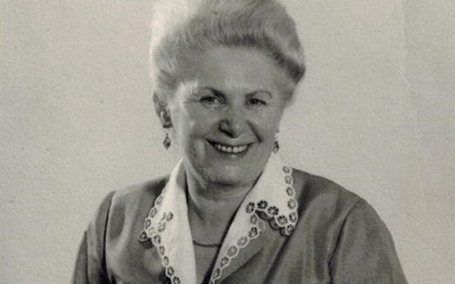 Tziporah Hirsch, for whom the bikur cholim room is named, in an undated photograph. Courtesy Pearl Lebovic