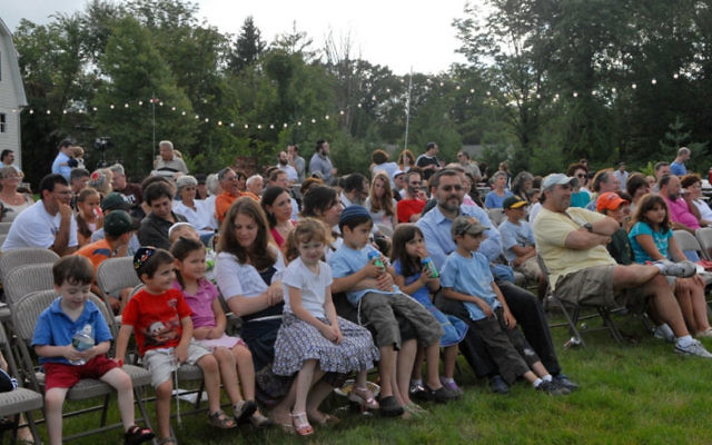 Organizers of this year's Jewish Music and Art Festival in Basking Ridge are hoping for three times as many people as attended last year's outdoor concert at the center.