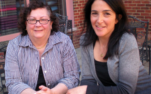 """Main Event honorees Janice Weinberg, left, and Lisa Israel worked together on Central federation's """"Foodraiser."""" Photo by Elaine Durbach"""