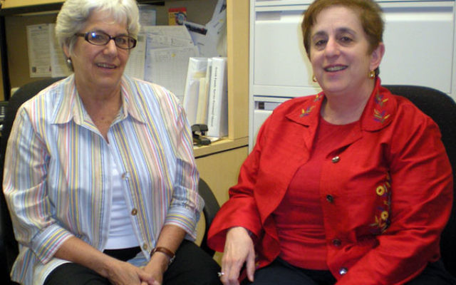 Carol Einhorn, left, and Sheri Brown are relaunching their workshop series to help people deal with career transitions and find new jobs.