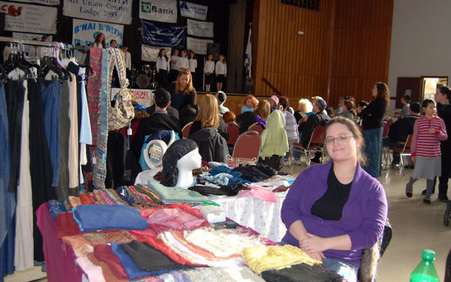 Amira Greenfield was among the vendors taking part in the Union Y's Fair and Expo on Nov. 21. Photos by Elaine Durbach