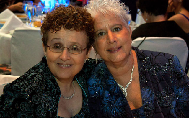 Louise Walpin, left, and Marsha Shapiro of Monmouth Junction are among the lead plaintiffs in a suit seeking the legalization of same-sex marriage in New Jersey.