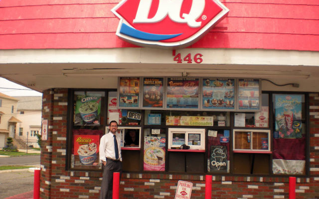 Rabbi Joshua Hess has cleared the way for his Orthodox congregants to enjoy the offerings of the local Dairy Queen. Photos by Elaine Durbach