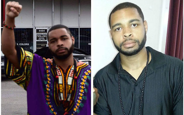 Micah Johnson was reportedly for a short time a member of the New Black Panther Party, a confrontational group that often espouses anti-Semitic ideas. (Facebook)