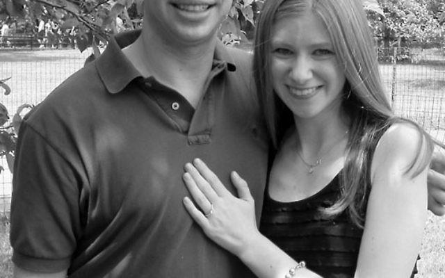 Jonathan Krieger and Stephanie Hacker