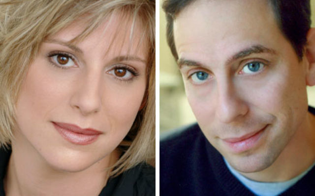 Elyse Wolf and Garth Kravits star in the Bickford Theater's production of Crossing Delancy.