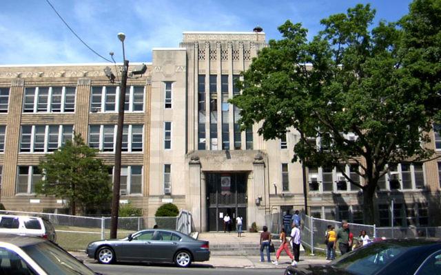Weequahic High School in Newark