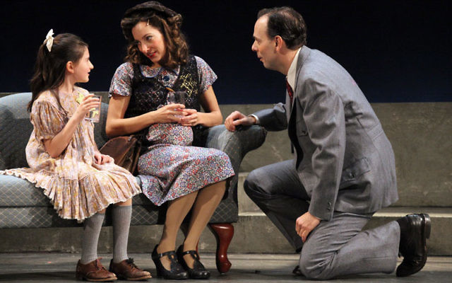 Livingston native Lauren Lebowitz, center, plays Rosa in Wallenberg: A New Musical Drama. Photo courtesy Rachel Hundert
