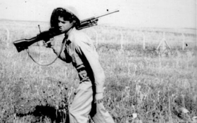 Ira Feinberg, who produced and directed My Brother's Keeper, in a 1948 photo as a soldier in Israel's War for Independence. Photo courtesy IraFeinberg.com