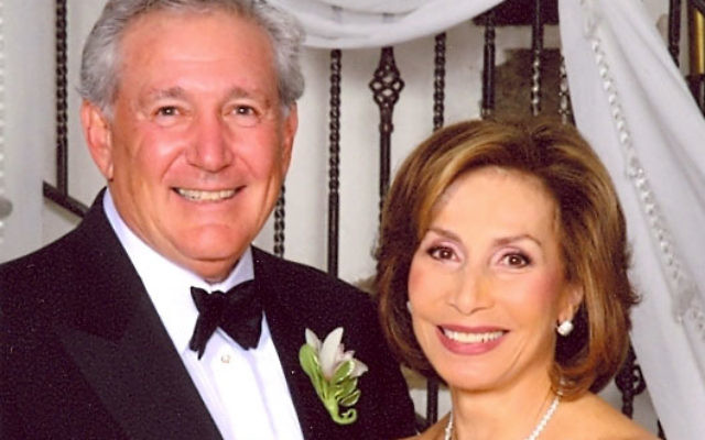 James and Madlyn Aaron will be honored by the Jewish Family & Children's Service of Greater Monmouth County at its annual dinner on Aug. 11. Photo courtesy Jewish Family & Children's Service of Greater Monmouth County
