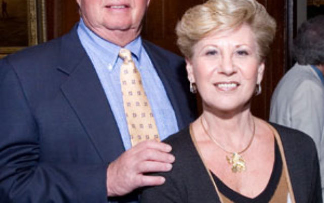 Bob and Bobbi Krantz at the Jewish Federation of Monmouth County Main Event.