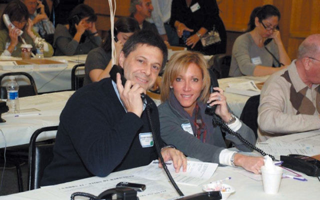 Volunteers made calls for the Monmouth federation's Super Sunday last year; some 200 are expected to lend a hand on Dec. 12.