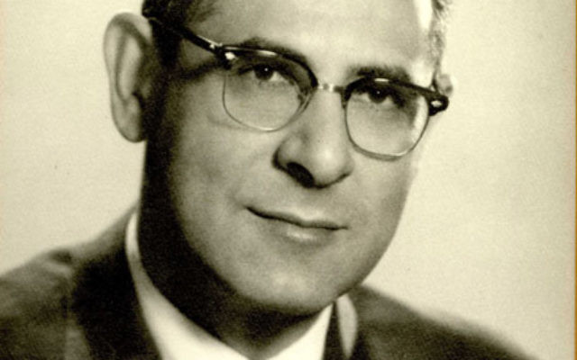 Leo Yanoff as president of the Jewish Community Council of Essex County from 1958 to 1960.