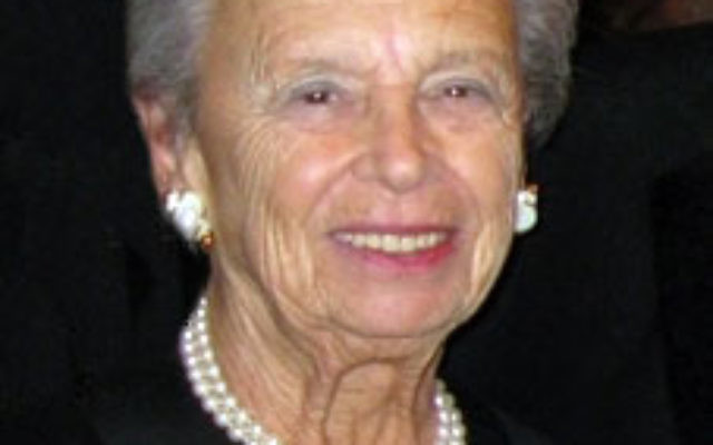 Jacqueline Levine and her husband — of 61 years — Howard, have three children and six grandchildren.