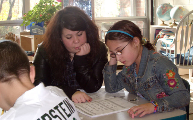 Studying together through an inclusion program sponsored by MetroWest ABLE