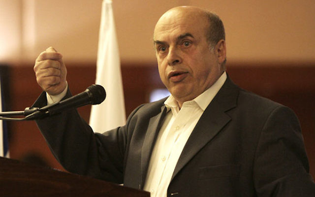 Natan Sharansky in a 2011 photo (The Jewish Agency for Israel/Flickr, CC BY 2.0)