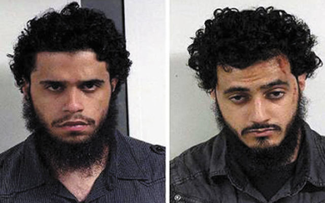 Mohamed Alessa, left, and Carlos Eduardo Almonte pleaded guilty March 3 to a single charge of planning to join a terrorist organization in Somalia with links to Al Qaida. Photo courtesy Federal Bureau of Investigation