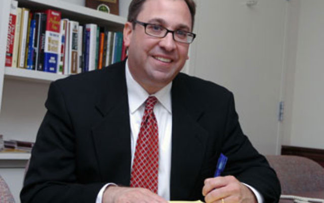 """Ben Dworkin, director of the Rebovich Institute for New Jersey Politics at Rider University, """"doubts"""" that charges of being anti-Israel will hurt either Reps. Bill Pascrell or Rush Holt. Photo by Peter G. Borg/Rider University"""