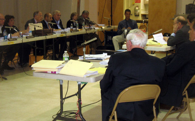 On April 12, the Chai Center appeared before the Millburn Township Zoning Board of Adjustment regarding zoning variances requested to build a synagogue on their current site. Photos by Johanna Ginsberg