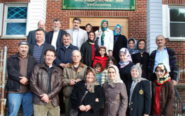 Members of Congregation Agudath Israel of West Essex in Caldwell visit the Ulu Cami mosque in Paterson.