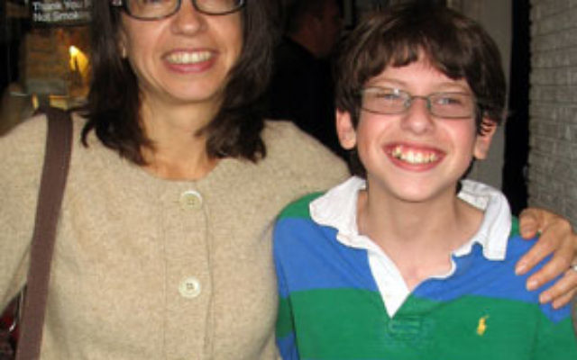Julie Raskin with her son, Ben Raskin-Gross