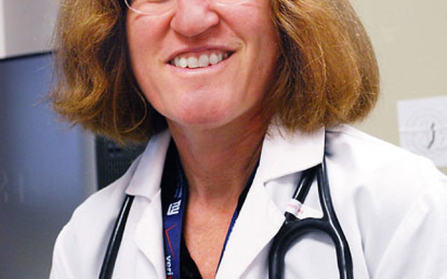 Dr. Iris Udasin, principal investigator in charge of the health needs of 1,700 New Jersey first responders to the World Trade Center terrorist attack.