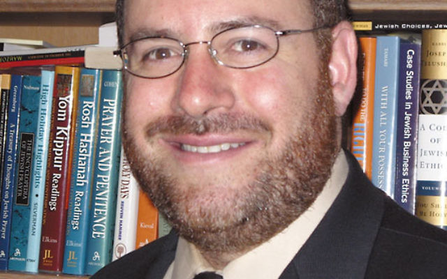 "USCJ leader Rabbi Steven Wernick said his organization's strategic plan emphasizes ""a new way of doing things."""