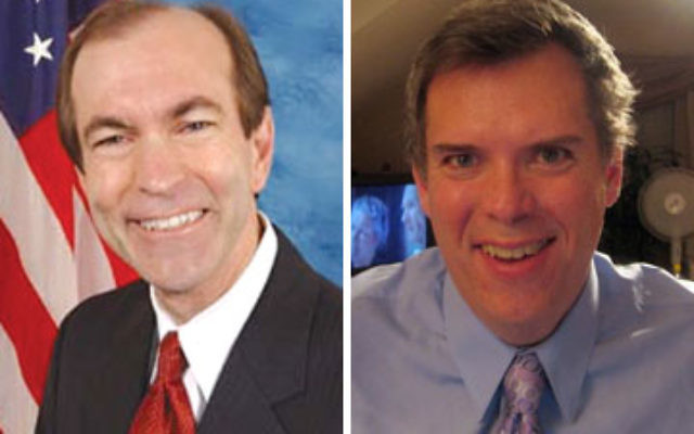 Left, Rep. Scott Garrett (R) is serving his fourth term. Right, attorney Tod Theise (D) lives in Washington Township.