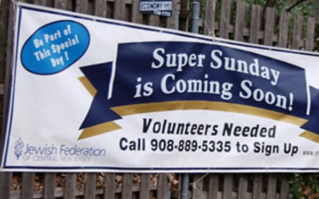 Community members are invited to be part of Super Sunday, Dec. 6 at the Wilf Jewish Community Campus in Scotch Plains.
