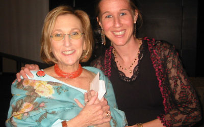 Rachel Lesser and Becky Levy — mother passed her commitment to Greenwood House to her daughter.