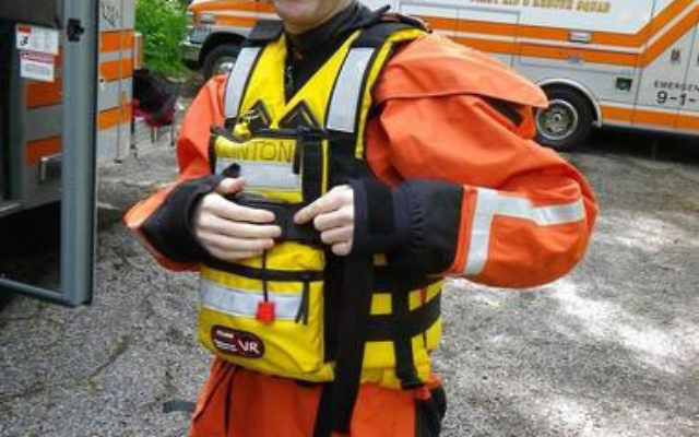Michael Kenwood, a volunteer for the Princeton First Aid and Rescue Squad, died attempting to reach a submerged car during Hurricane Irene. Photo courtesy Princeton First Aid and Rescue Squad