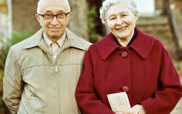Marian Bass established The Jewish Center of Princeton's Motel and Goldie Bass Social Concerns Fund in memory of her parents.