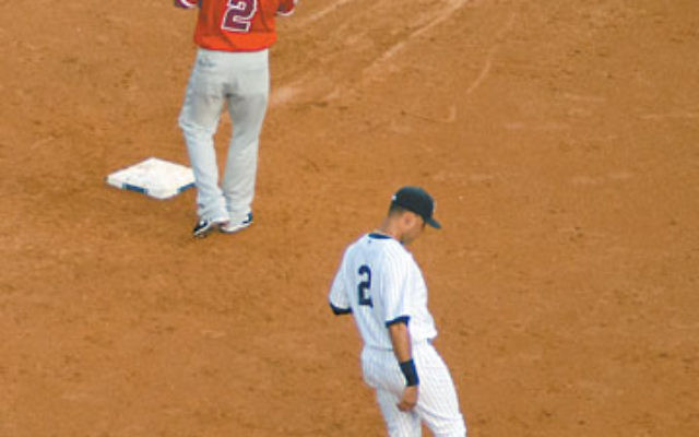 Will fans turn their backs on Derek Jeter for his faux hit-by-pitch stunt? Photo by Rachel Kaplan