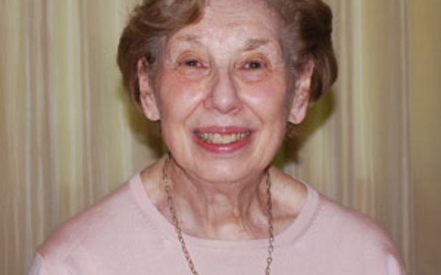 Ruth Candeub Avins of Edison was honored in Washington for her efforts with the Senior Medicare Patrol of New Jersey, run out of the Jewish Family & Vocational Service of Middlesex County.