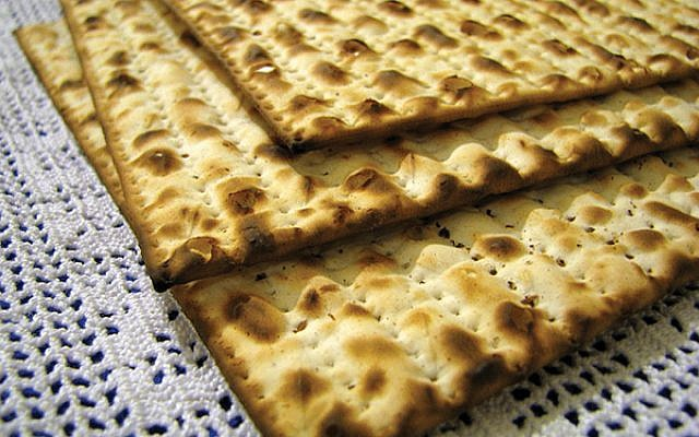 Matzah, the Passover staple Avital Pinnick/ flickr