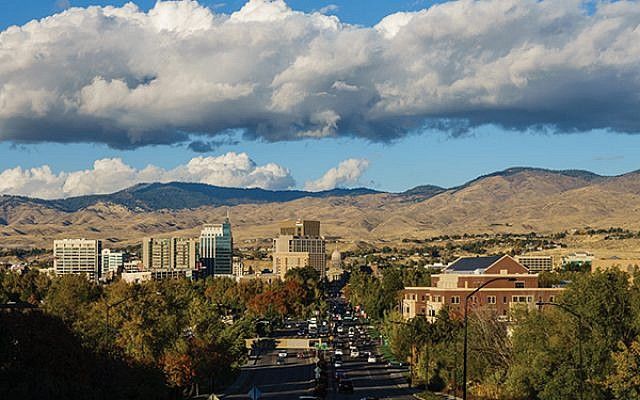 A view of Boise. Wikimedia Commons