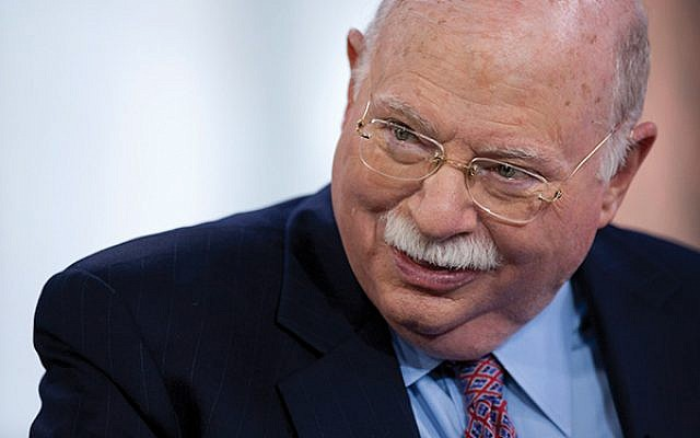 Michael Steinhardt, one of Hillel's biggest donors, has been removed from the board of governors' list on its website.  GETTY IMAGES/ JTA/FLASH90