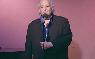 NJJN staff writer Robert Wiener performs at the Don't Tell Mama piano bar in New York City. Vimeo Screenshot