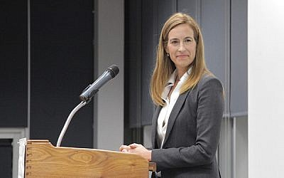 Mikie Sherrill, Democratic candidate for Dist. 11 Photos by David Thomas